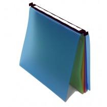 Classeur suspendu tiroir  bleu