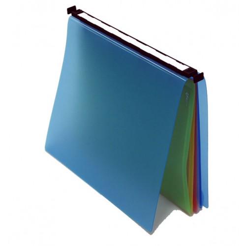 Classeur  suspendu a tiroir  bleu jowa