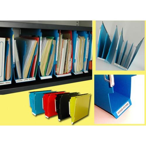 Dossier suspendu armoire  de 20 bleu